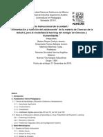 Diseño Instruccional Ciencias de La Salud II