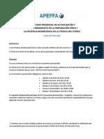 Instituto APEFFA - Curso Semi Presencial 2019