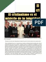 El Cristianismo Es El Misterio de La Iniquidad