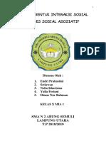 Cover Interaksi Sosial Asosiatif