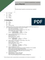 Edexcel Physics - Year 1 Answers