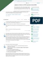 cómo deshacerse de las páginas en blanco en pdf exportado desde ssrs