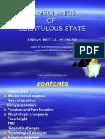 Biomechanics of Edentulous State Orthodontic Teeth