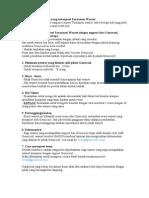 Catatan Untuk Warnet Yang Merequest Turnamen Warnet