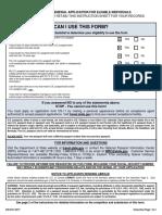 DS82 Complete Passport Form