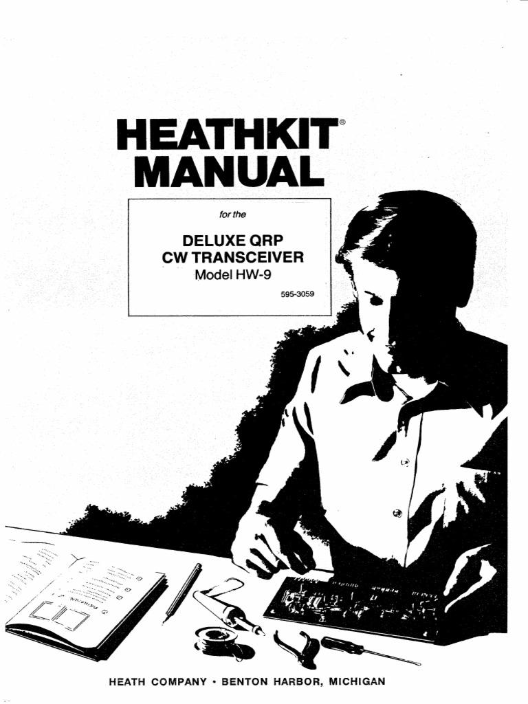 Heathkit HW-9 Deluxe QRP Transciever (Manual)