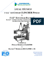 Documentop.com Manual Tecnico 5 1 2 Estandar Clincher Pinzas 5 1 599586371723ddc109cf8629