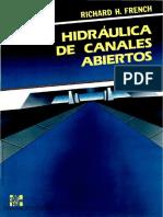 Hidráulica de Canales Abiertos [Richard H. French]