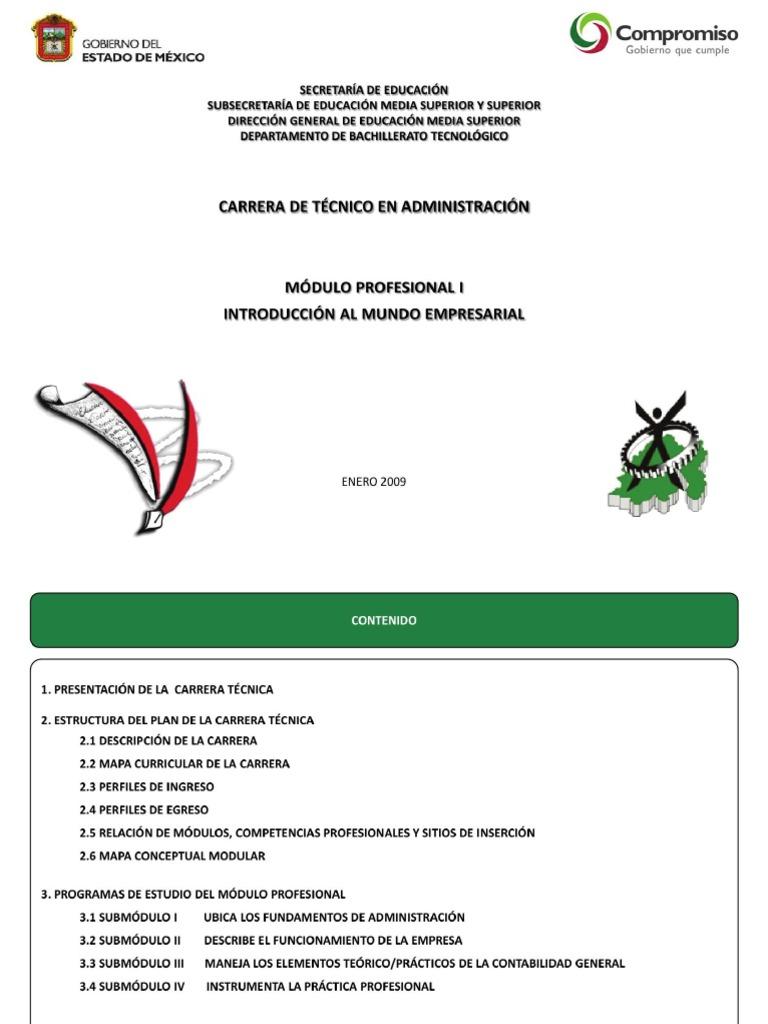 Sbt Pdf Tecnico En Administracion M1 Pdf