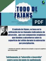 Método de Fajans