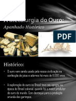 Metalurgia do Ouro