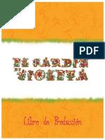 Libro de producción El jardín de Violeta