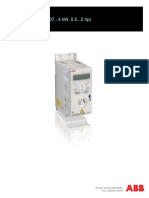 ABB ACS150 Drives User Manual