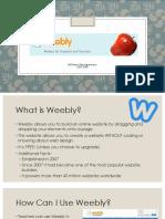 weebly presentation