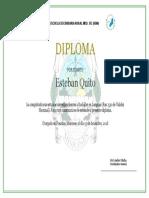 Diploma Egresado