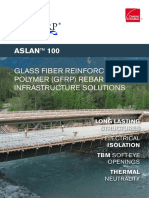 Aslan 100 GFRP Rebar Brochure