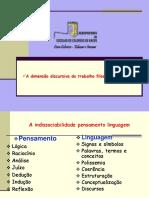 A DimensA o Discursiva Do Trabalho FilosA3fico 1