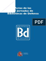 IV Jornadas de Bibliotecas de Defensa