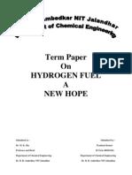 Hydrogen Fuel Final