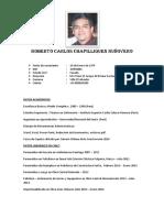 Cv Roberto Chapilliquen 2018 Trabajo en Altura
