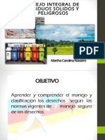 Presentacion Manejo Integral de Residuos Solidos