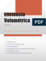 Eficiencia Volumétrica