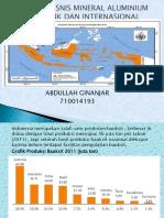 tugas presentasi Prospek Bisnis Mineral Aluminium Domestik Dan Internasional