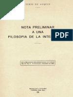 Nimio de Anquin - Nota preliminar a una filosofia de la inteligencia.pdf