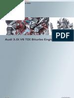 Audi 3.0l V6 TDI Biturbo Engine