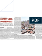 Cities India Reforms
