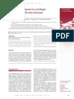 Clés Diagnostiques en Cytologie Conventionnelle Des Séreuses