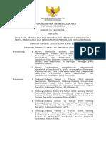 121 Permenakertrans No. 28 Tahun 2014 Tentang Tata Cara Pembuatan Dan Pengesahan Peraturan Perusahaan Serta Pembuatan Dan Pendaftaran Perjanjian Kerja Bersama