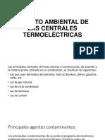 Impacto Ambiental de Las Centrales Termoeléctricas