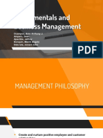 Fundamentals and Business Management (1)
