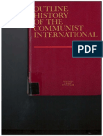 Outline History Of Communist International USSR 1971 OCR
