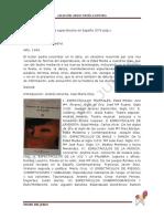 Historia de Los Espect Culos en Espa a PDF