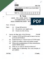 Data Communication Networks (EEC-702)