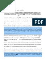 Extremos de Varias Variables Felix