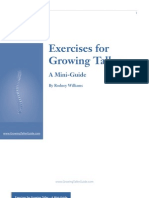 Exercises for Growing Taller - A Mini-Guide