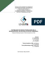 FACTIBILIDAD DE NUEVAS TECNOLOGÍAS EN LA SEPARACIÓN DEL GAS NATURAL EN PDVSA VENEZUELA.