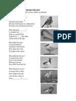CEFR F3 UNIT 1 Poisoned Talk Poem Worksheet