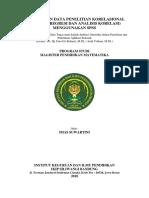 PENGOLAHAN DATA PENELITIAN KORELASIONAL.docx