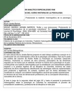 Rae Individual Pioneros de La Psicologia Colombiana