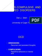 Obsession-Compulsive and Related Disorders