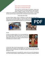 Danzas Tipicas y Etnias en La Amazonía Del Ecuador
