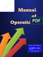 GPPB Manual of Operations