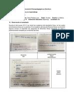 Intervención Psicopedagógica en Escritura (1)