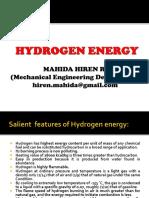 Hydrogen energy intro
