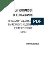INFRACCIONES ADUANERAS MAS FRECUENTES - SEMINARIO MEF.pdf
