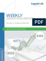 Stock Futures and Options Reports for the Week (18th - 22nd October '10)